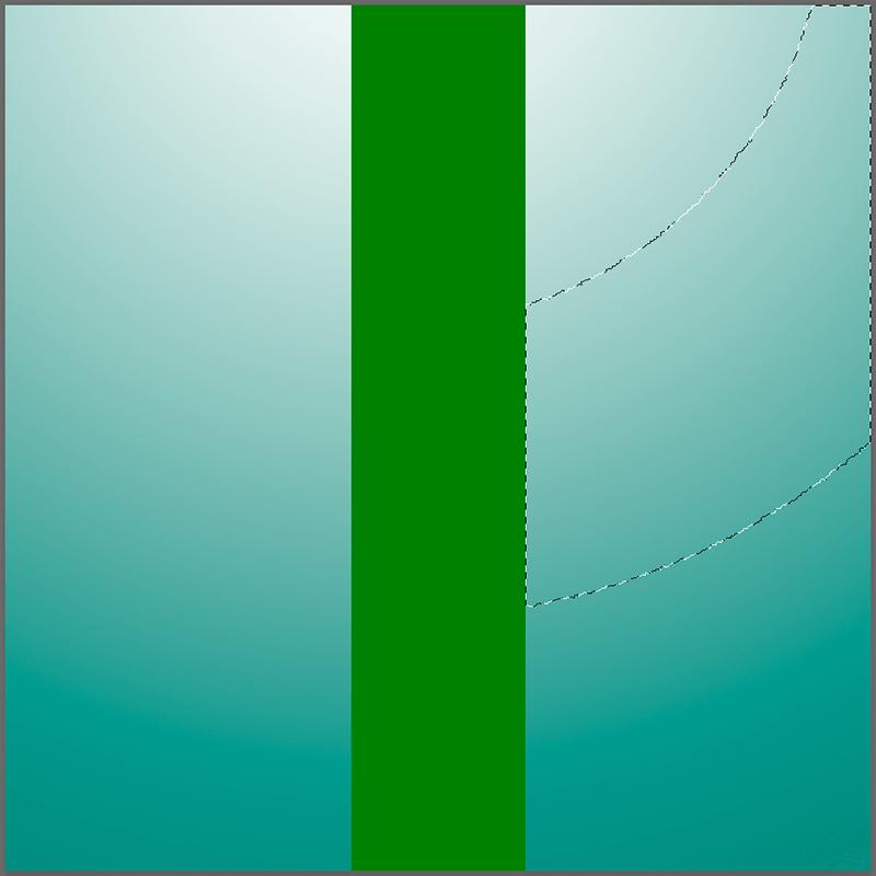 Выделение области с помощью Волшебной палочки в Фотошопе