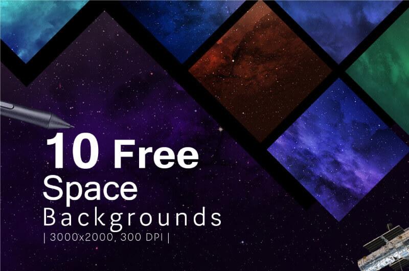 Высококачественные космические фоны для Фотошопа