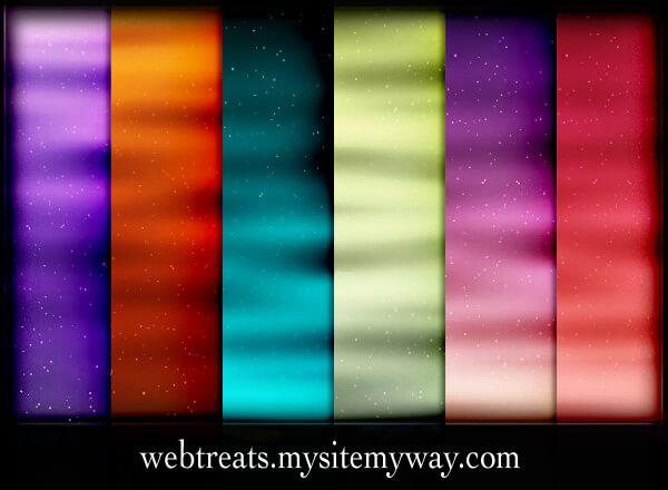 Набор узоров для создания фонов с космическими волнами в Фотошопе