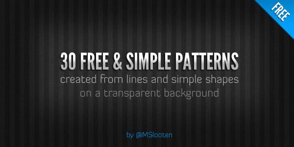 Паттерны с геометрическими узорами для создания темных фонов в Фотошопе
