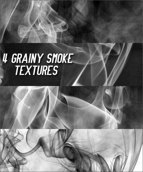 Фоны с зернистой текстурой дыма для Фотошопа