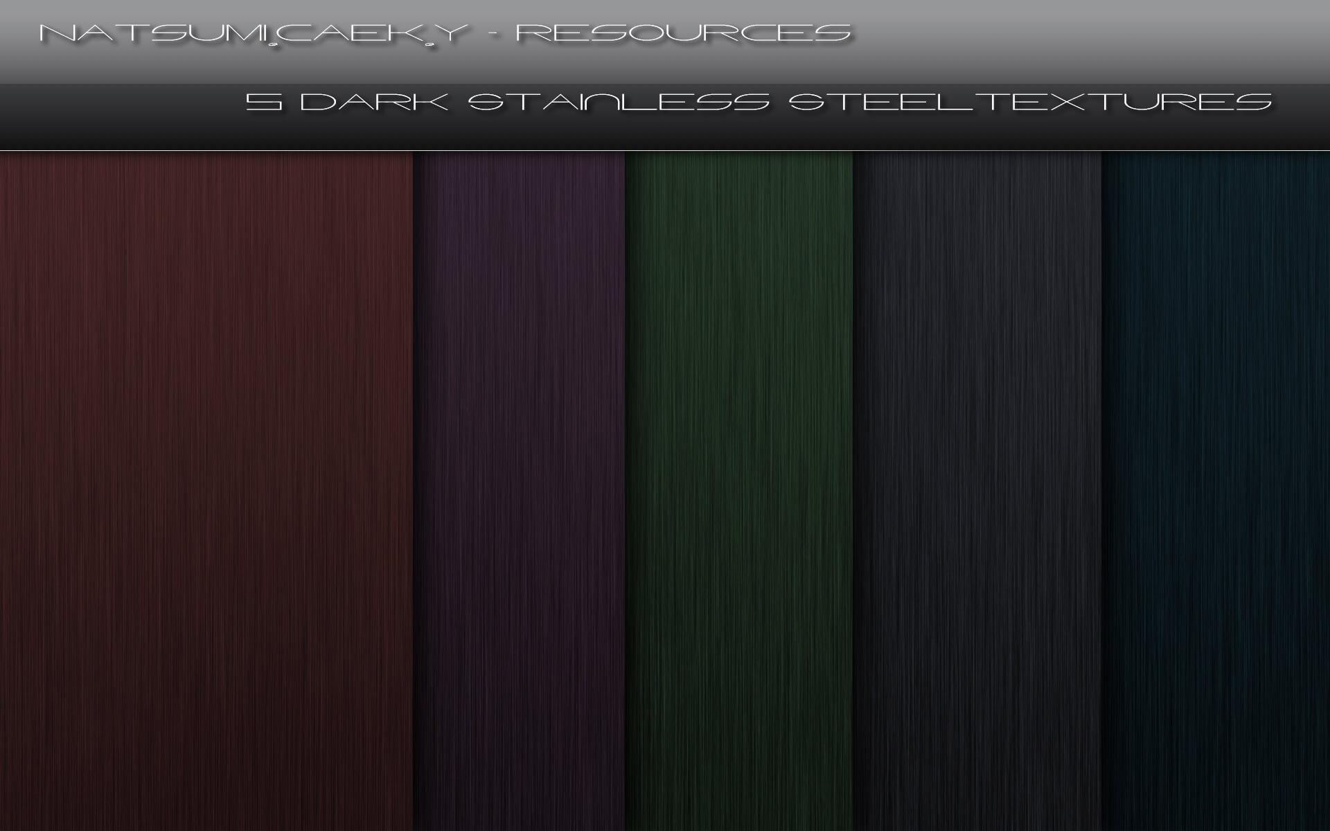 Темные фоны с текстурой стали для Фотошопа