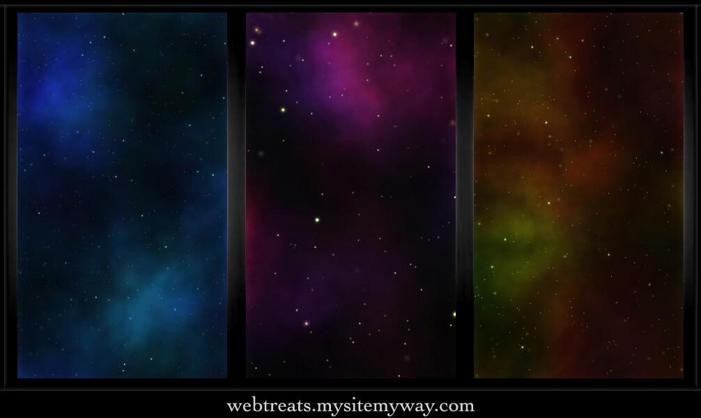 Фоны с космической туманностью для Фотошопа