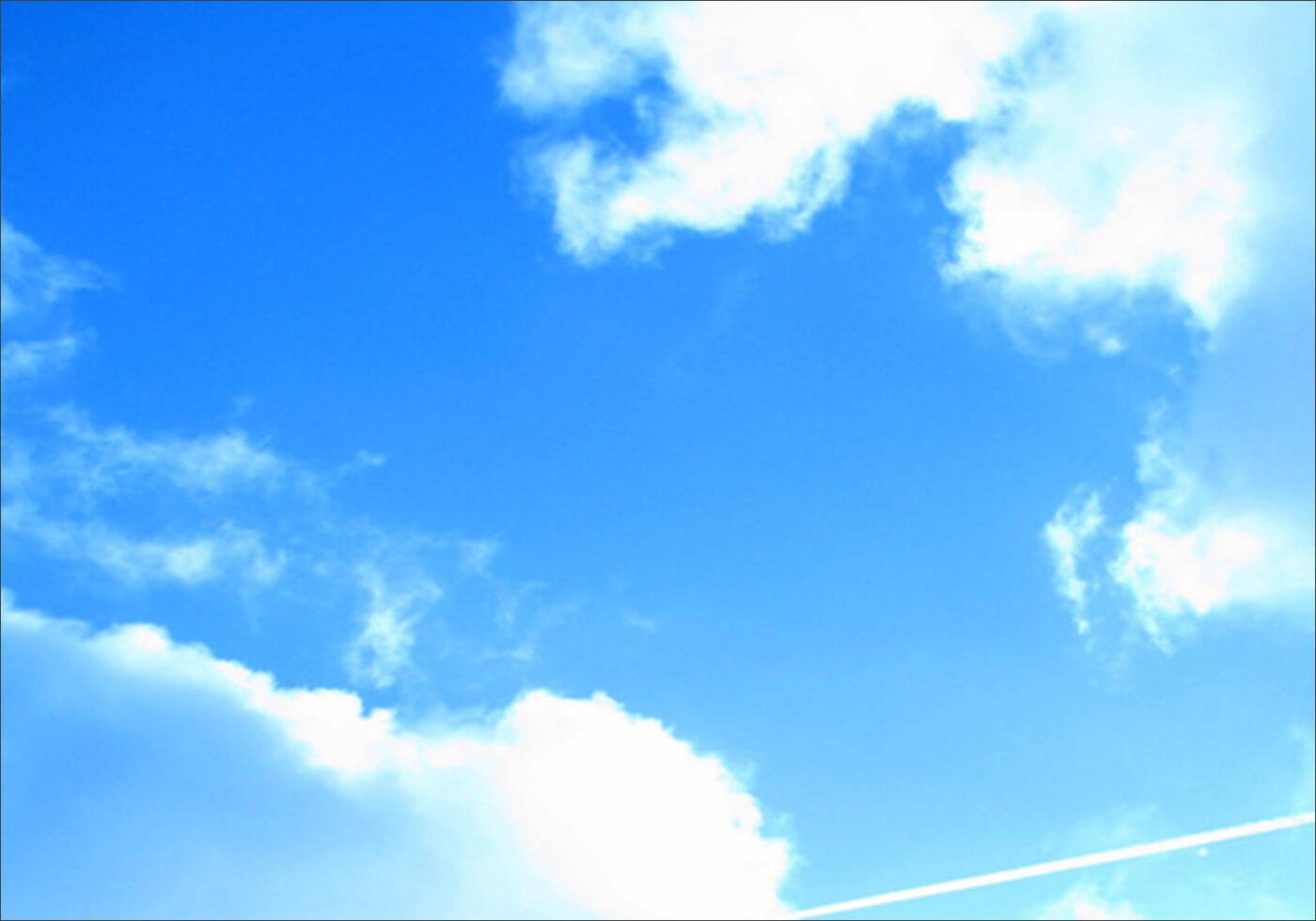Живописные фоны с облаками для Фотошопа