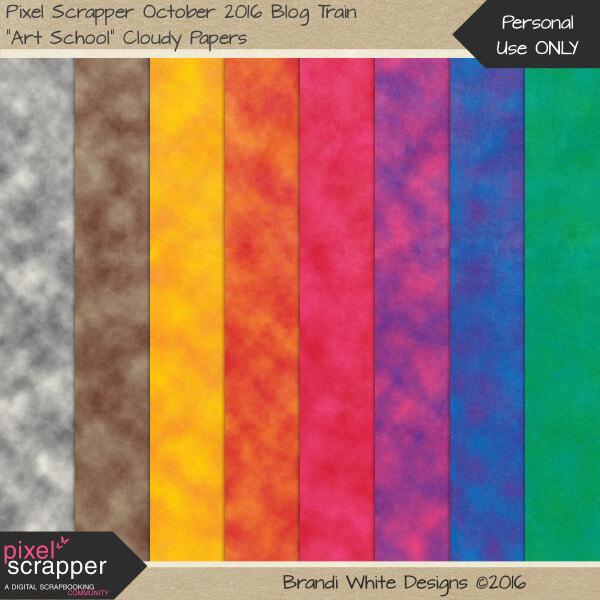 Фоны с текстурой цветной бумаги с облачным принтом для Фотошопа
