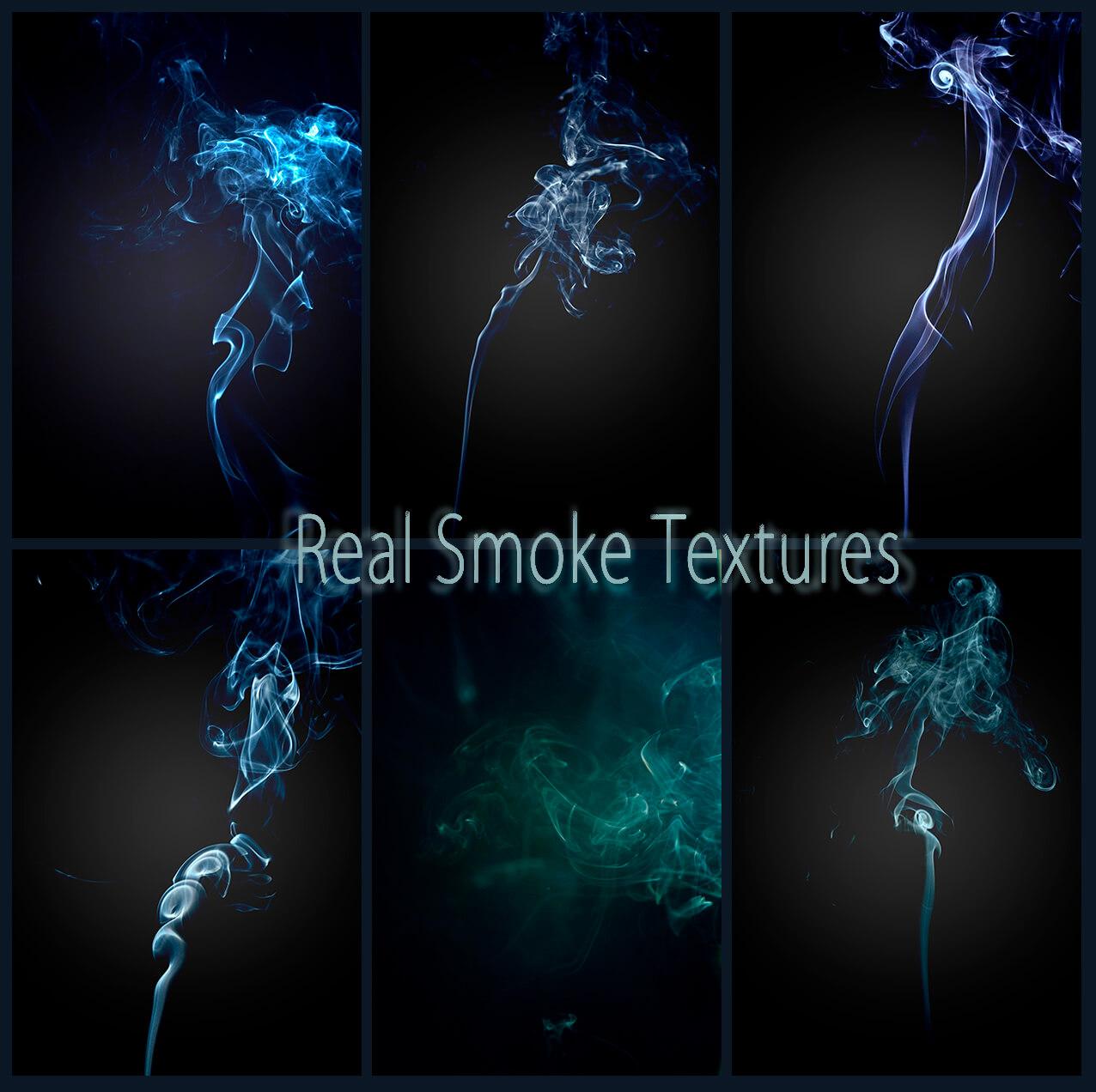 Фоны с реалистичным дымом для Фотошопа