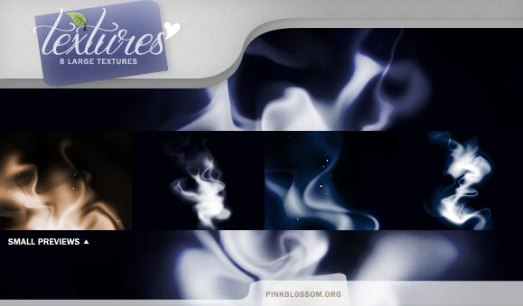 Фоны с текстурой дыма для Фотошопа