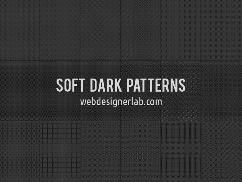 Нежные фоны в темных тонах для Фотошопа