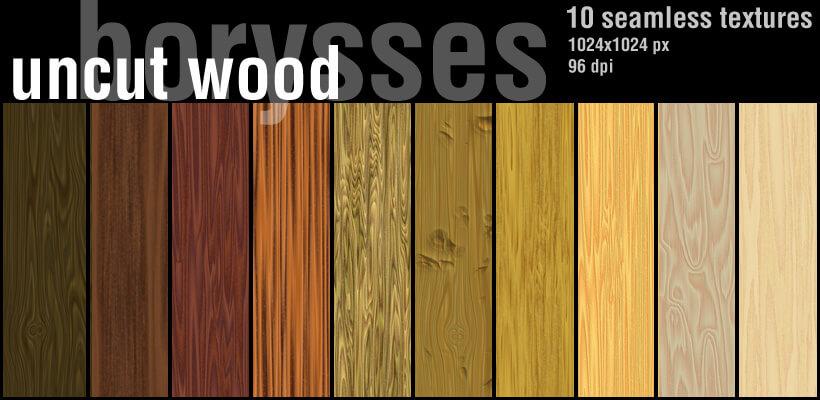 Фоны с текстурой необработанного дерева для Фотошопа