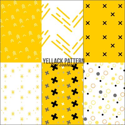 Фоны с абстрактными узорами в желтых тонах для Фотошопа