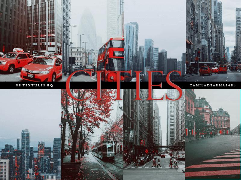 Фоны с улицами больших городов
