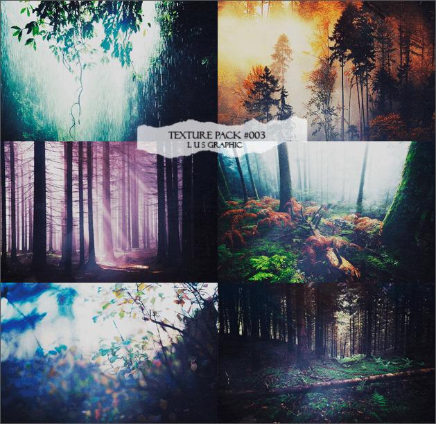 Фоны с живописными лесными пейзажами для Фотошопа