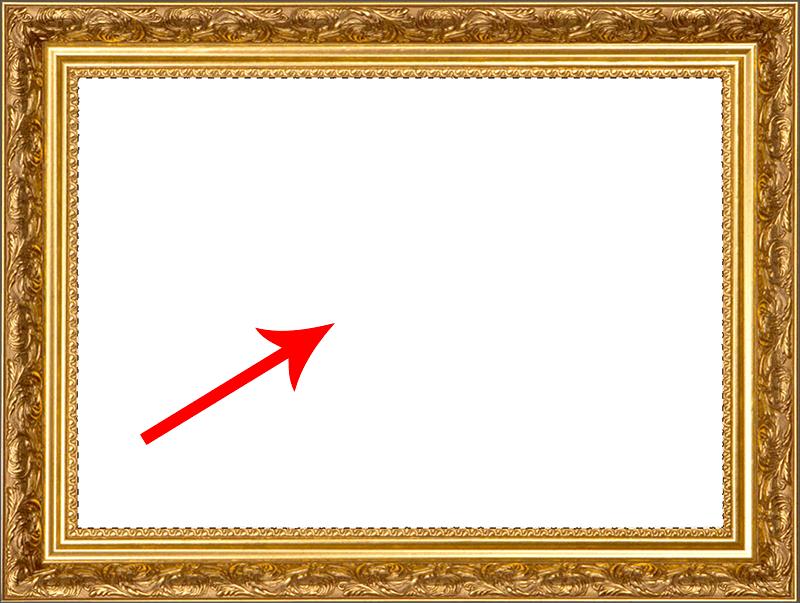 Выделение белой области с помощью Волшебной палочки в Photoshop