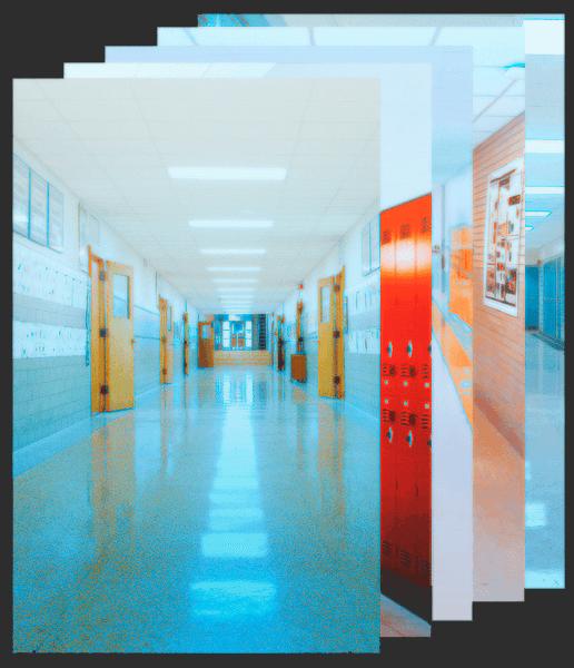 Фоны со школьным интерьером для Фотошопа