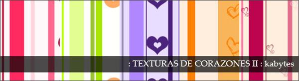 Паттерны-фоны с полоски и сердечками для Фотошопа