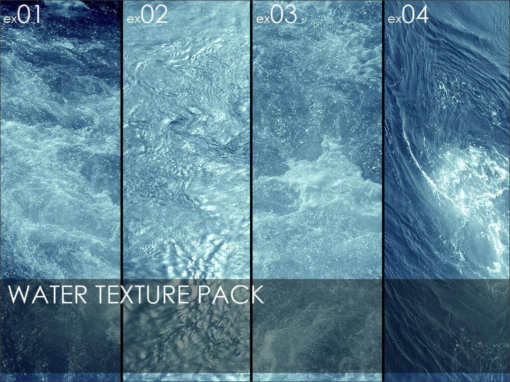 Фоны с текстурой воды для Фотошопа