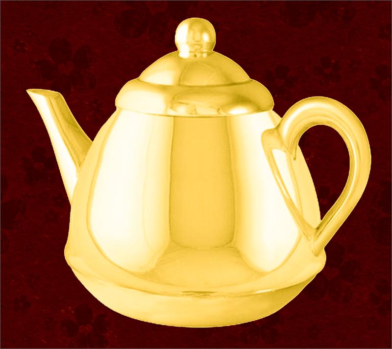 Результат имитации золотого цвета в Photoshop