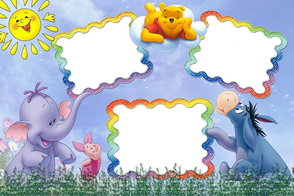 Рамки для Фотошопа (png, psd): Детские