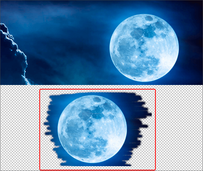 Копирование участка изображения с помощью Штампа в Фотошопе