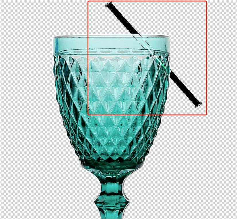 Изменение размеров/пропорций/положения блика в Фотошопе