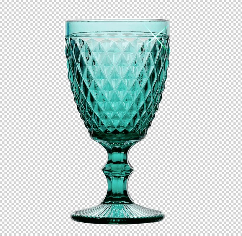 Результат добавления блика на объект в Фотошопе