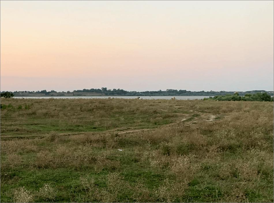 Исходный пейзаж для наложения тумана в Фотошопе