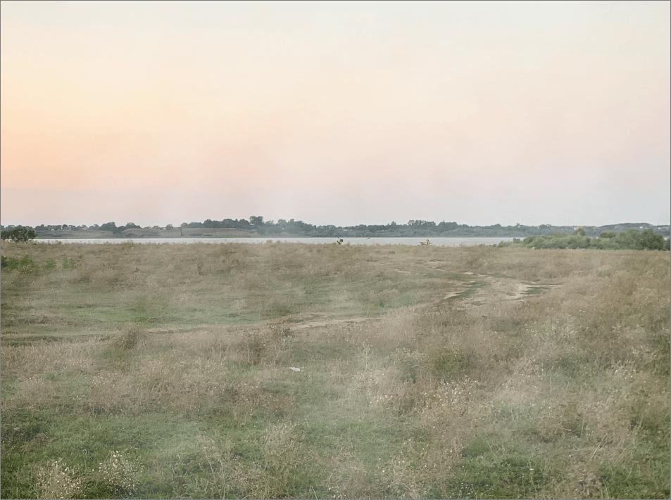 Результат наложения тумана на фото в Фотошопе